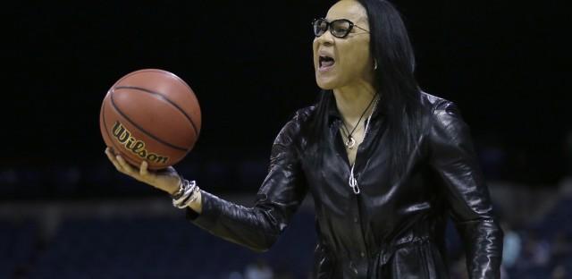 South Carolina head coach Dawn Staley.
