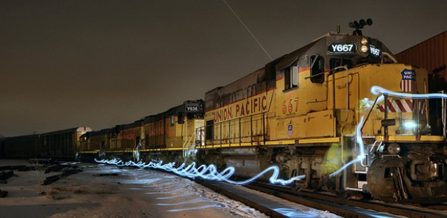 Walking The Train: Photo of the Day - February 8, 2013