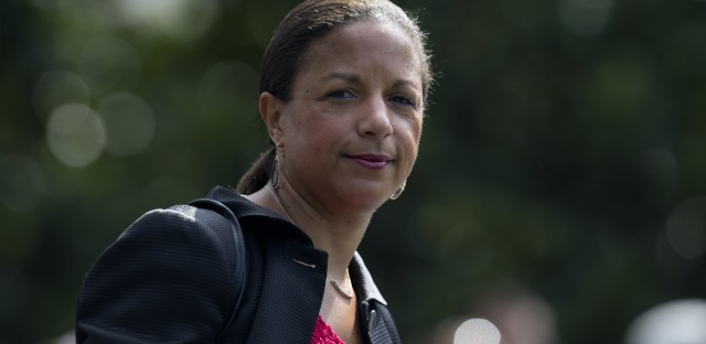 Former national security adviser Susan Rice may be a focus of the Senate subcommittee hearing on Monday, but she won't be in the room.