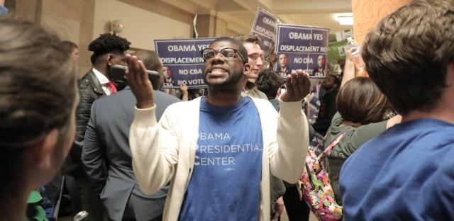 Obama President Center Supporter