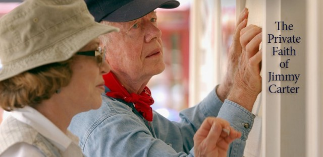 On Being : The Private Faith of Jimmy Carter Image