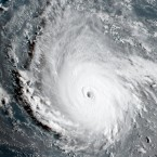 The most powerful Atlantic Ocean hurricane in National Hurricane Center records has roared into the Caribbean and was on a path to hit Florida this weekend or early next week. As of Wednesday, Irma had maximum sustained winds of 185 mph.