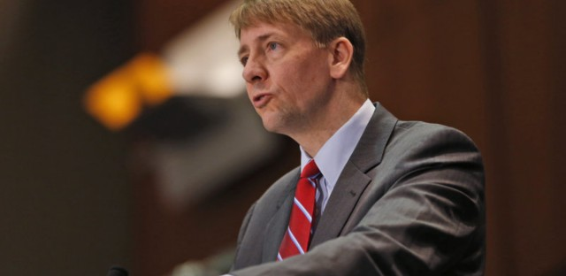 """Consumer Financial Protection Bureau Director Richard Cordray says financial firms use arbitration to """"sidestep the legal system [and] avoid accountability."""" But industry officials say a proposed ban on mandatory arbitration clauses will lead to frivolous legal action."""