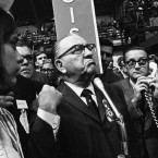 Richard J. Daley at the 1968 Democratic Convention