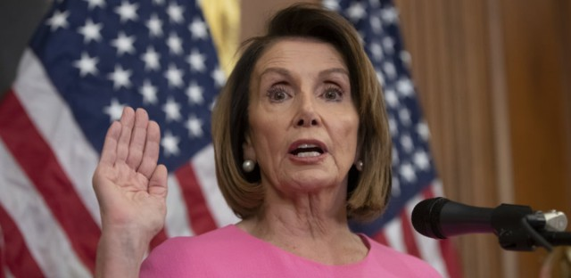 House Minority Leader Nancy Pelosi, D-Calif., expressed confidence she would be elected speaker of the House after Democrats won control of the chamber in the midterm elections on Tuesday. (J. Scott Applewhite/AP)