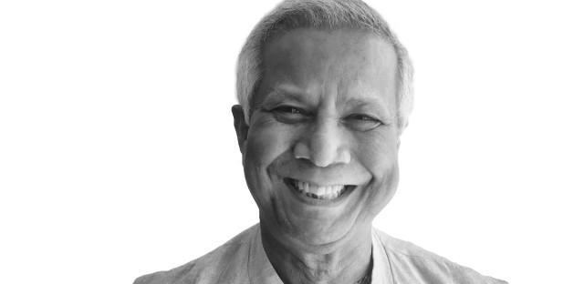 Nobel Peace Prize winner Muhammad Yunus