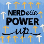 Nerdette Power Up Logo - Powerup GOOD CMS CROP