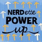 Nerdette Power Up Logo - Powerup GOOD CMS CROP