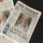 The death of Sydney's Justine Ruszczyk, who was shot dead by a Minneapolis police officer on Saturday, is front-page news in Australia.