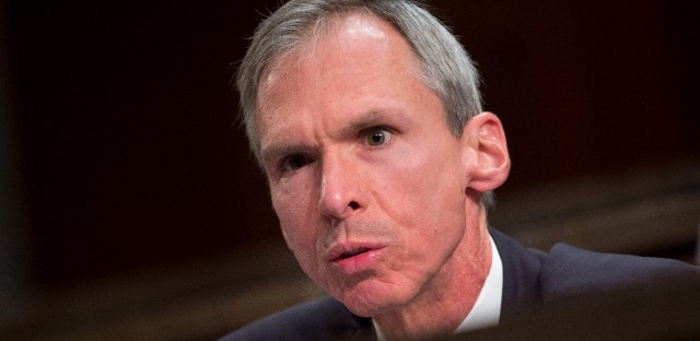 Congressional Steel Caucus member, Rep. Dan Lipinski, D-Ill. speaks on Capitol Hill in Washington, Thursday, April 14, 2016, during a hearing on the State of the U.S. steel industry with testimony from industry executives and labor representatives. (AP Photo/Pablo Martinez Monsivais)