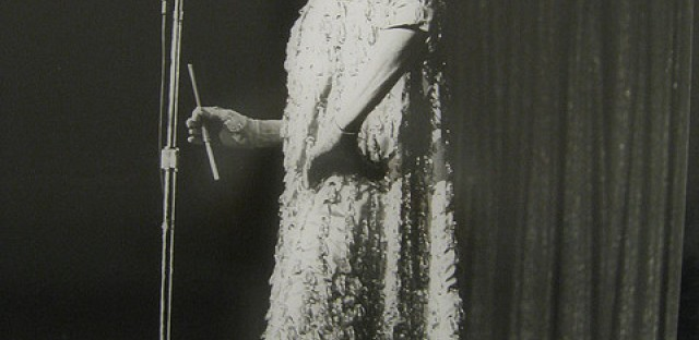 Phyllis Diller at the Flamingo in 1964.