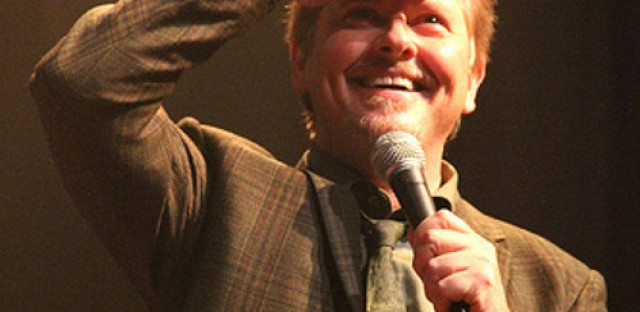 Actor, writer and comedian Dave Foley hits the stage