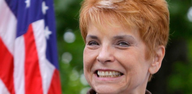 Judy Baar Topinka steals inauguration show
