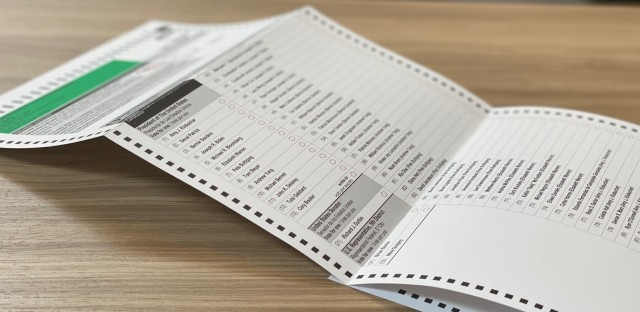 Illinois Primary Ballot
