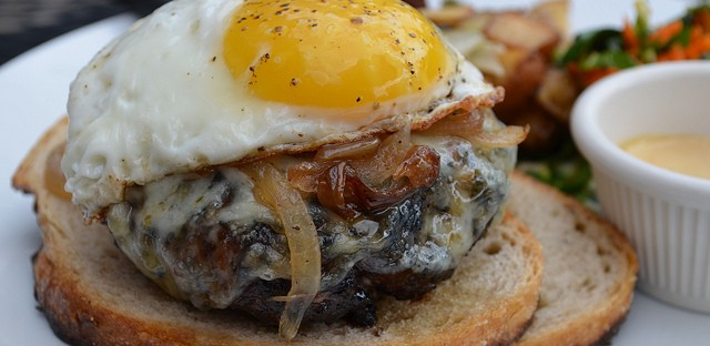 Brunch patty melt special at City Provisions
