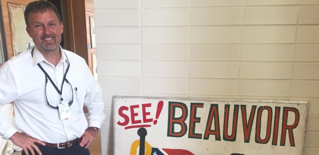 """Greg Stewart is executive director of Beauvoir, the former Biloxi, Miss., home of Confederate President Jefferson Davis. Stewart wants to preserve the Mississippi state flag with its Confederate emblem. """"When you're asking me to take it down because those people were so bad, those people were my ancestors."""""""