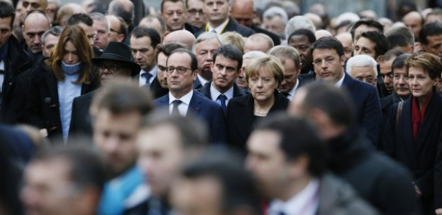 Millions march in unity, defiance after attacks in Paris