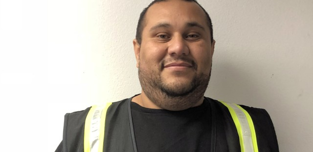 Los Angeles freight truck driver Rene Flores, a contractor, had to borrow $10,000 from friends to have surgery because he lacked health insurance.