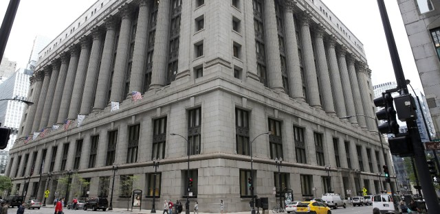 Chicago's City Hall building shown on May 14, 2014.