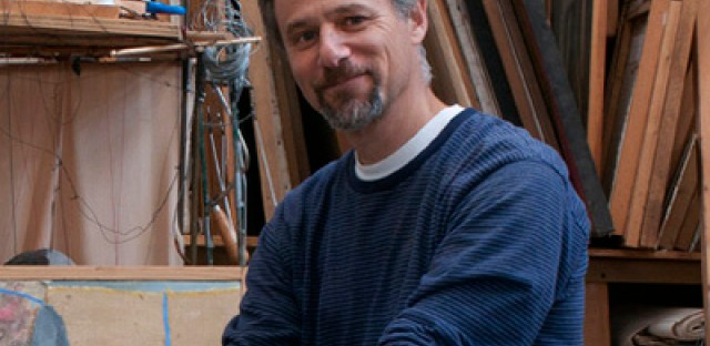 Michael Montenegro, puppet master of Evanston