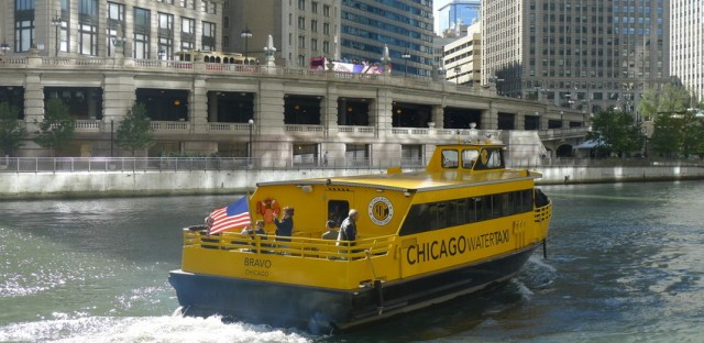 Free rides on Chicago Water Taxi for 50th anniversary