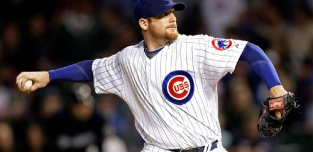When will Ryan Dempster throw his last pitch for the Cubs? Or has he?