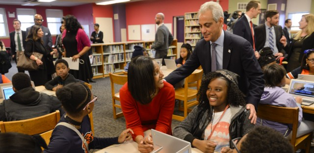 Rahm Emanuel considers improvement in Chicago Public Schools one of his signature achievements as Chicago mayor. But some say they'll mostly remember the chaos in the schools during his tenure.