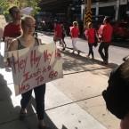 Instituto college protest