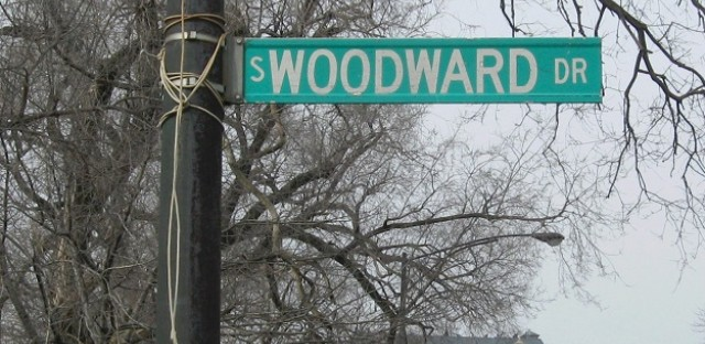 The mystery of Woodward Drive