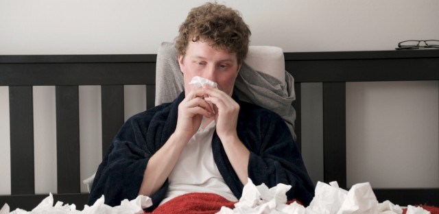 On the mend after being sick with the flu? You could still be contagious.