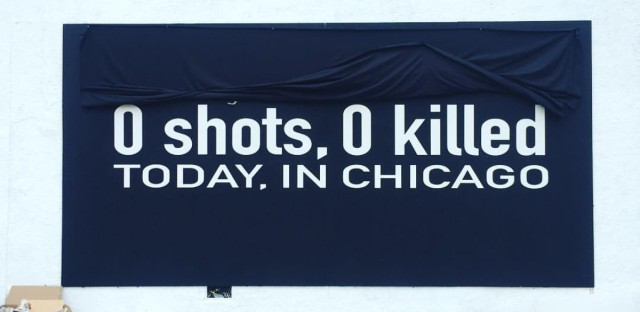 Chicago Mural 0 Shots 0 Killed Today In Chicago