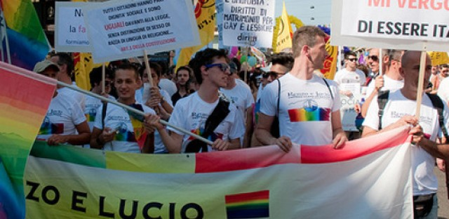 Italy's debate on gay marriage