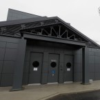 The exterior of the new Illinois Holocaust Museum and Education Center in suburban Skokie on Monday, April 13, 2009.