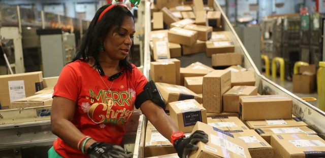 1A : Miracle On Your Street: How The Post Office Handles Holidays Image