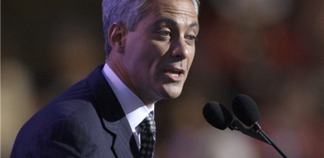 It's Official: Rahm Leaves White House for Chicago