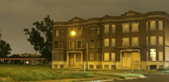 Majority African-American neighborhoods like Washington Park have a higher rate of poverty than other city neighborhoods.