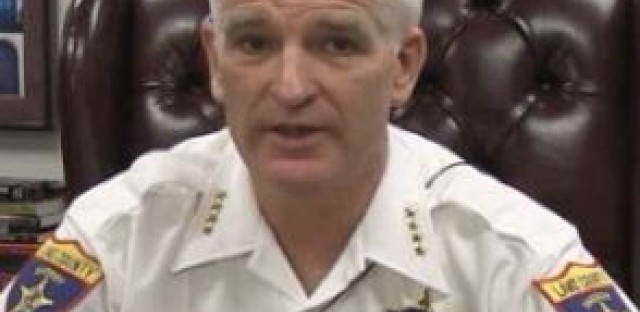 Lake County Sheriff Mark Curran says Illinois Secretary of State Jesse White's office is dragging its feet on setting up a driver's license program for immigrants who are in the country illegally.