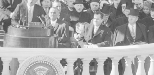 Fifty years ago, John F. Kennedy was inaugurated as the 35th President of the United States.
