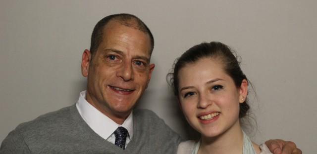 Lloyd Bachrach spoke with his daughter, Marissa.