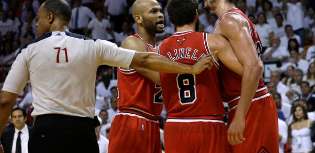 Bulls hope to be more composed tonight against the Heat.