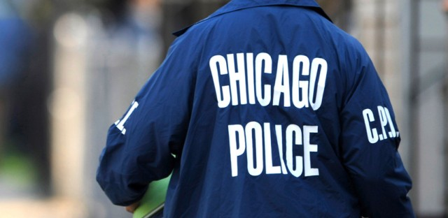 File: Chicago police officer.