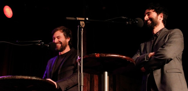 Ask Me Another : Mark and Jay Duplass: 'People Give Us Blazers!' Image