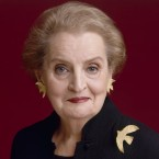 Madeleine Albright served as secretary of state under President Clinton from 1997 until 2001. Timothy Greenfield Sanders/Harper Collins
