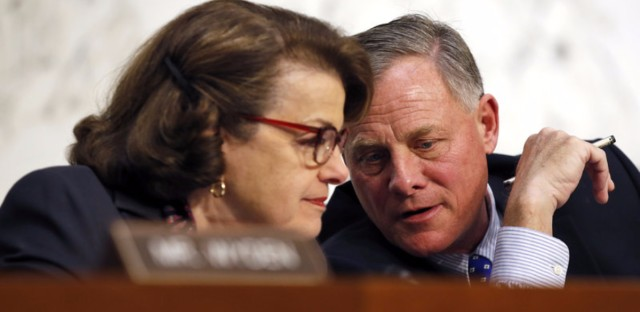 Senate Intelligence Committee Vice Chair Sen. Dianne Feinstein, D-Calif., and committee Chairman Sen. Richard Burr, R-N.C., have introduced encryption legislation.