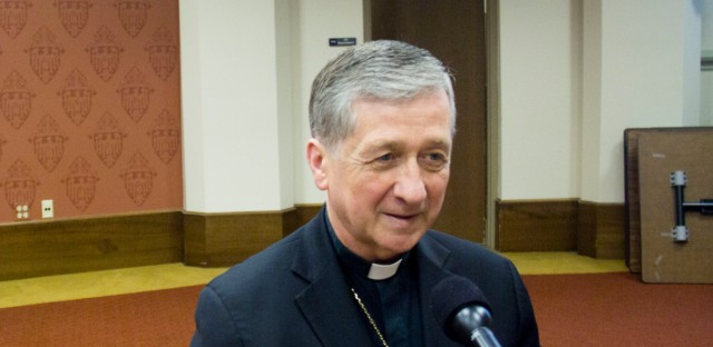 Cardinal Blase Cupich sat down for an interview with Tony Sarabia Monday at the Archdiocese of Chicago.