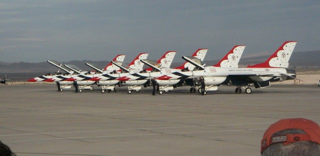 The Air Force Thunderbirds have canceled performances this summer due to federal budget cuts. The loss of the Thunderbirds and other military aerial performance groups have forced the South Shore Air Show in Gary to be canceled this summer.