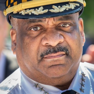 Chicago Police Superintendent Eddie Johnson