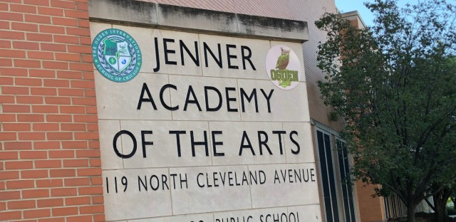 Jenner Academy of the Arts merged with Ogden International, bringing together two Chicago public schools serving very different student populations.