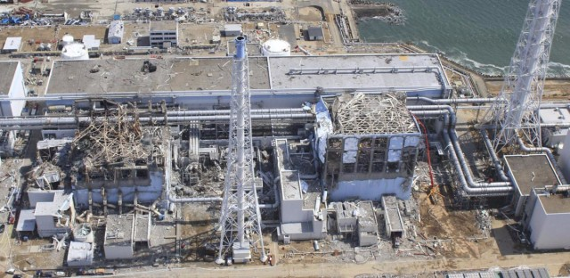 An aerial view of the Fukushima Daiichi nuclear power plant in March 2011. A 9.0-magnitude earthquake struck off Japan's north central coast on March 11, 2011, triggering a devastating tsunami. GAMMA/Gamma-Rapho via Getty Images