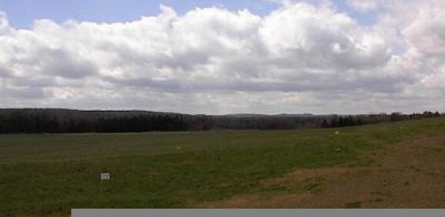 Reflections from the crash site of United Flight 93